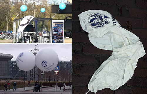 Ballons at TU Delft & Leiden University