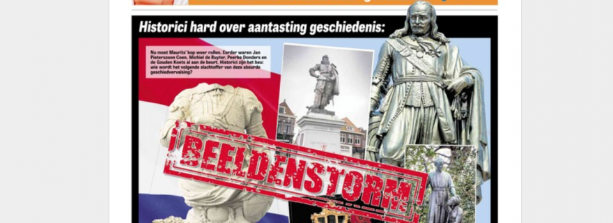 A 21st-century Dutch 'Beeldenstorm'? The Frame of Iconoclasm in Historical Perspective
